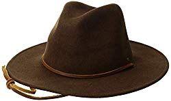 Brixton Men s Field Wide Brim Felt Fedora Hat – BABIES ITEMS  96a71a5a4a6