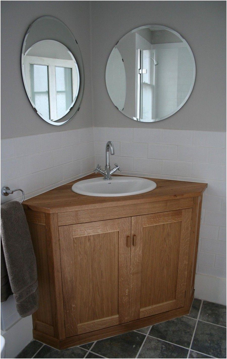 Luxury Oak Corner Bathroom Cabinet Lazienka Pomysly Na Lazienke