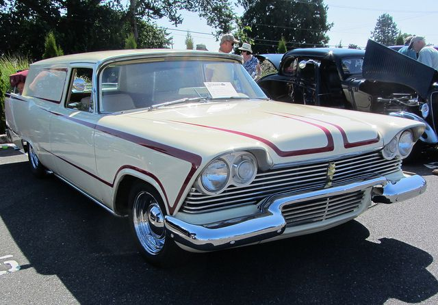 1957 Plymouth Savoy sedan delivery (phantom)