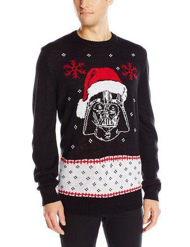 Star Wars Men's Vader Claus Sweater, Black, X-Large Star Wars - http://www.amazon.com/gp/product/B013RZT7D0/ref=as_li_qf_sp_asin_il_tl?ie=UTF8&camp=1789&creative=9325&creativeASIN=B013RZT7D0&linkCode=as2&tag=lunabellaswor-20&linkId=ESDLJV3J6UC7TGWP