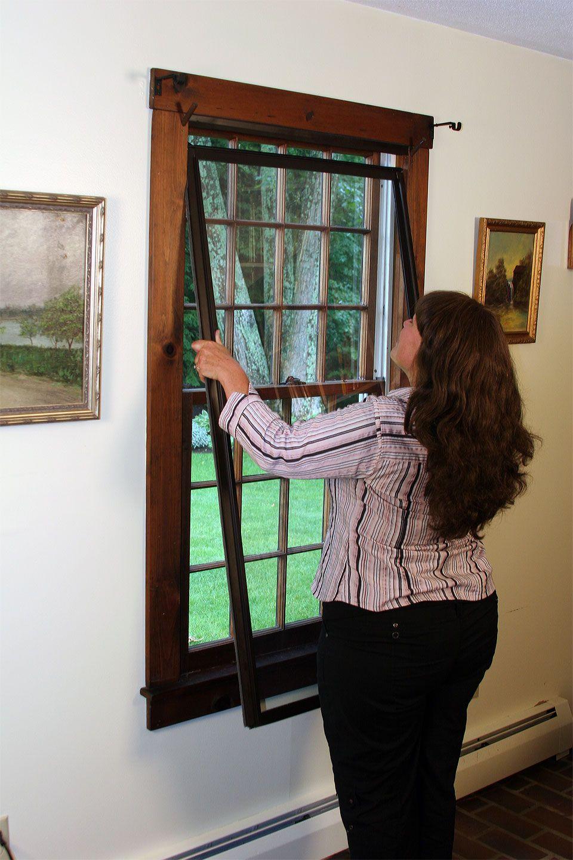 Innerglass Window Systems Interior Storm Windows Storm Windows Diy Window Replacement