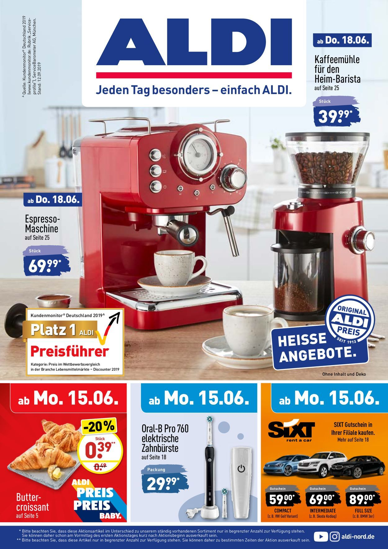 Aldi Prospekt Gartenmobel 2020 In 2021 Aldi Prospekt Aldi Espresso Maschine