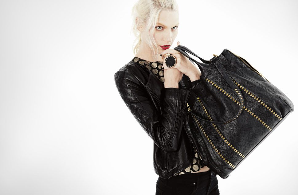 ROCK THE REBEL-CHIC TOTE