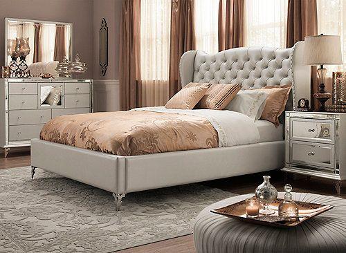 Best Hollywood Loft 4 Pc King Bedroom Set King Bedroom Sets 640 x 480