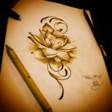 Fleur De Lotus Dessin Recherche Google Tattoos And Piercings