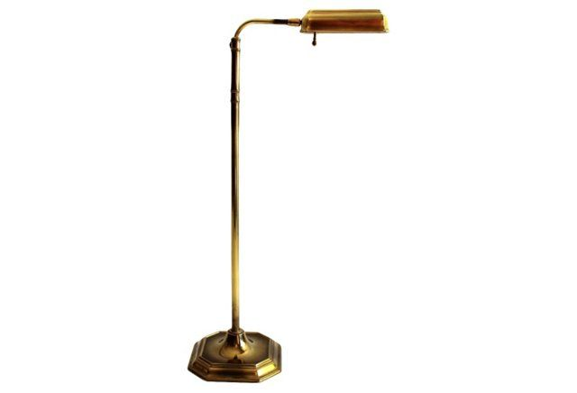 Brass Pharmacy Floor Lamp By Stiffel 495 950 Pharmacy Floor
