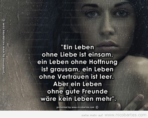 Ein Leben Ohne Liebe Ist Einsam Ein Leben Sayings Words Quotes