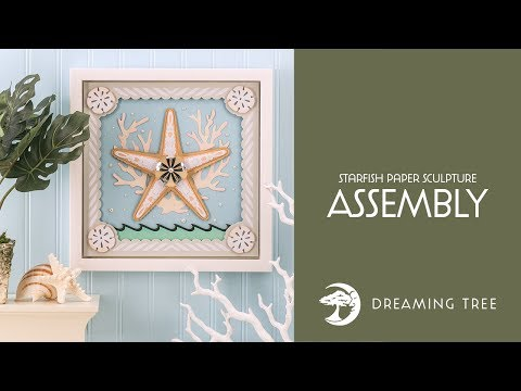 Starfish_Paper_Sculpture_3DSVG uploaded Starfish Paper