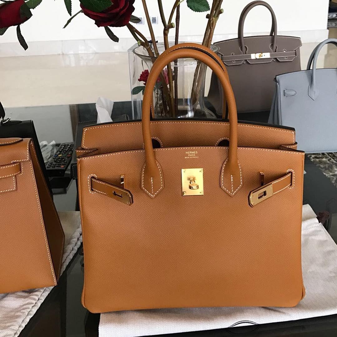 7a9dcb9dd Hermes Birkin30 Toffee Epsom Ghw A | Handbags && Accessories in 2019 ...