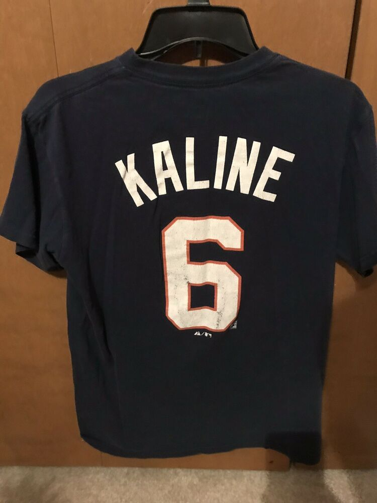 watch 483ca 1fd1e Al Kaline jersey t shirt medium detroit tigers retro ...