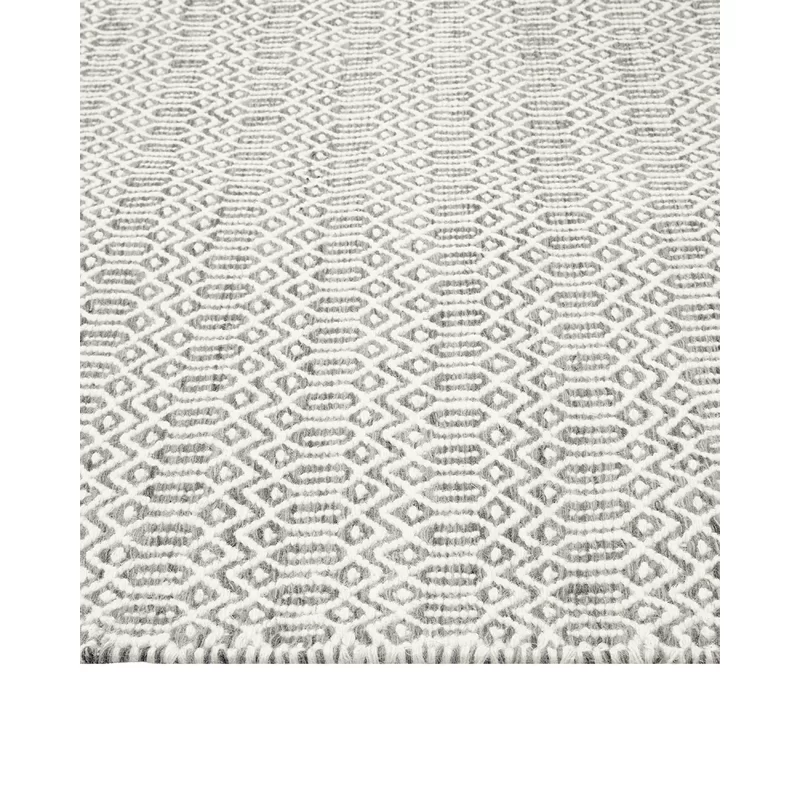 Solo Rugs Chatham Hand Woven Wool Area Rug Slate 10 X 14 In 2020 Solo Rugs Wool Area Rugs Area Rugs