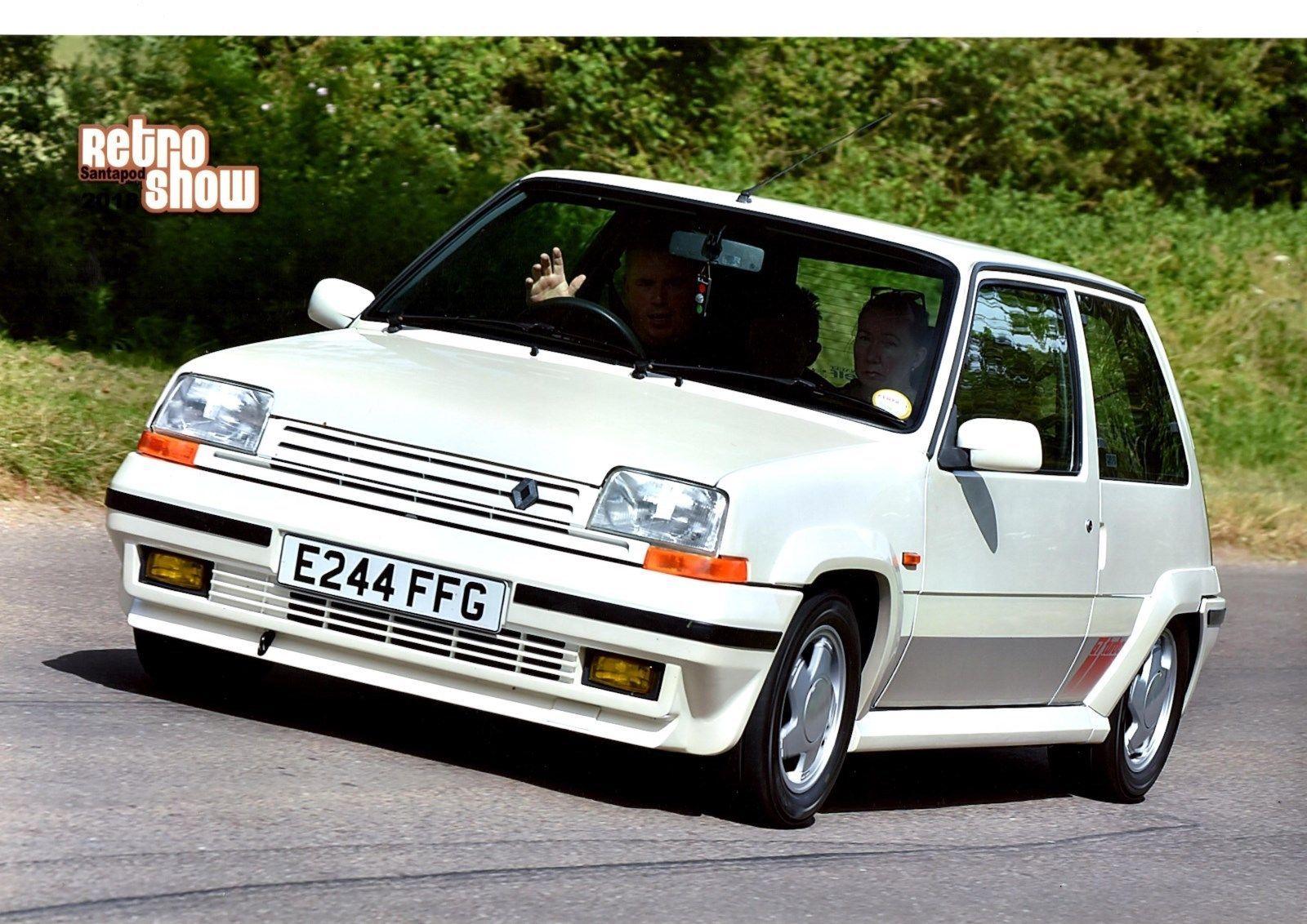 Renault 5 Gt Turbo Phase 2 Pearl White 1988 Renault 5 Gt Turbo Renault 5 Renault