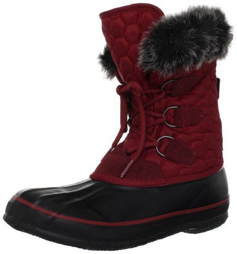 """Kamik Women's Snowfling2 Snow Boot Kamik. $71.75. Kamik's UPTOWN Vulcanized Rubber Outsole. Heel measures approximately 1."""". Faux Fur Snow Collar. Moisture Wicking Lining. Rubber sole. Fixed 200B Thinsulate & Foam Insulation. Shaft measures approximately 8"""" from arch. Synthetic and textile. Rustproof D-Ring Lacing System"""