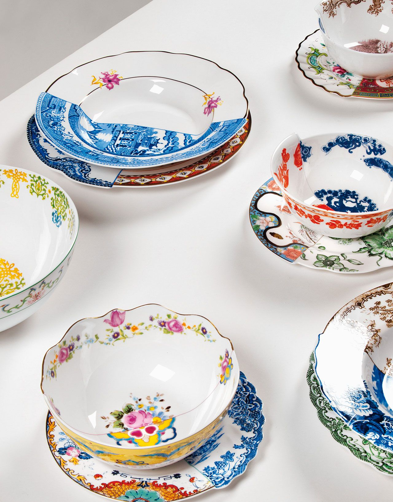 HYBRID u2013 Handcrafted dinnerware by CTRLZAK for SELETTI  sc 1 st  Pinterest & HYBRID u2013 Handcrafted dinnerware by CTRLZAK for SELETTI | Design ...
