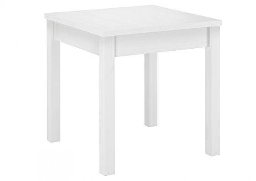90.70-52 w weißer tisch esszimmertisch küchentisch beistelltisch, Esszimmer dekoo