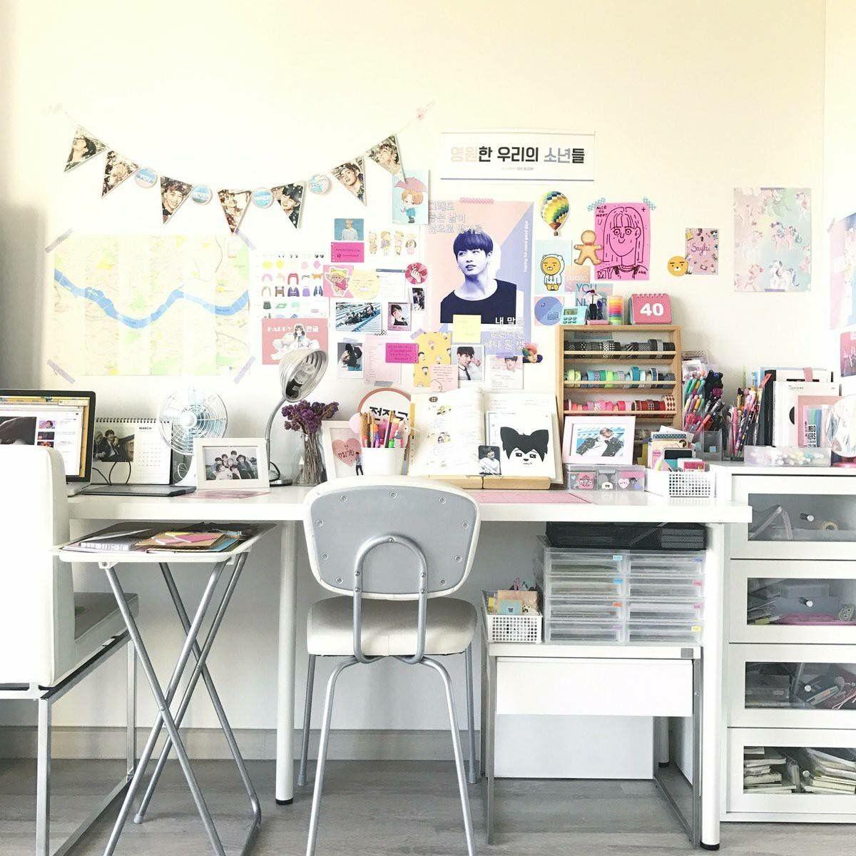 Pinterest vikysha ig vikyirib bedroom idea for Ideas decoracion escritorio