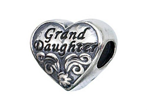 e3aad6dfa Zable Sterling Silver Granddaughter Pandora Compatible Bead Charm ** Check  out the image by visiting the link.