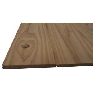 Knotty Pine Edge V Plank