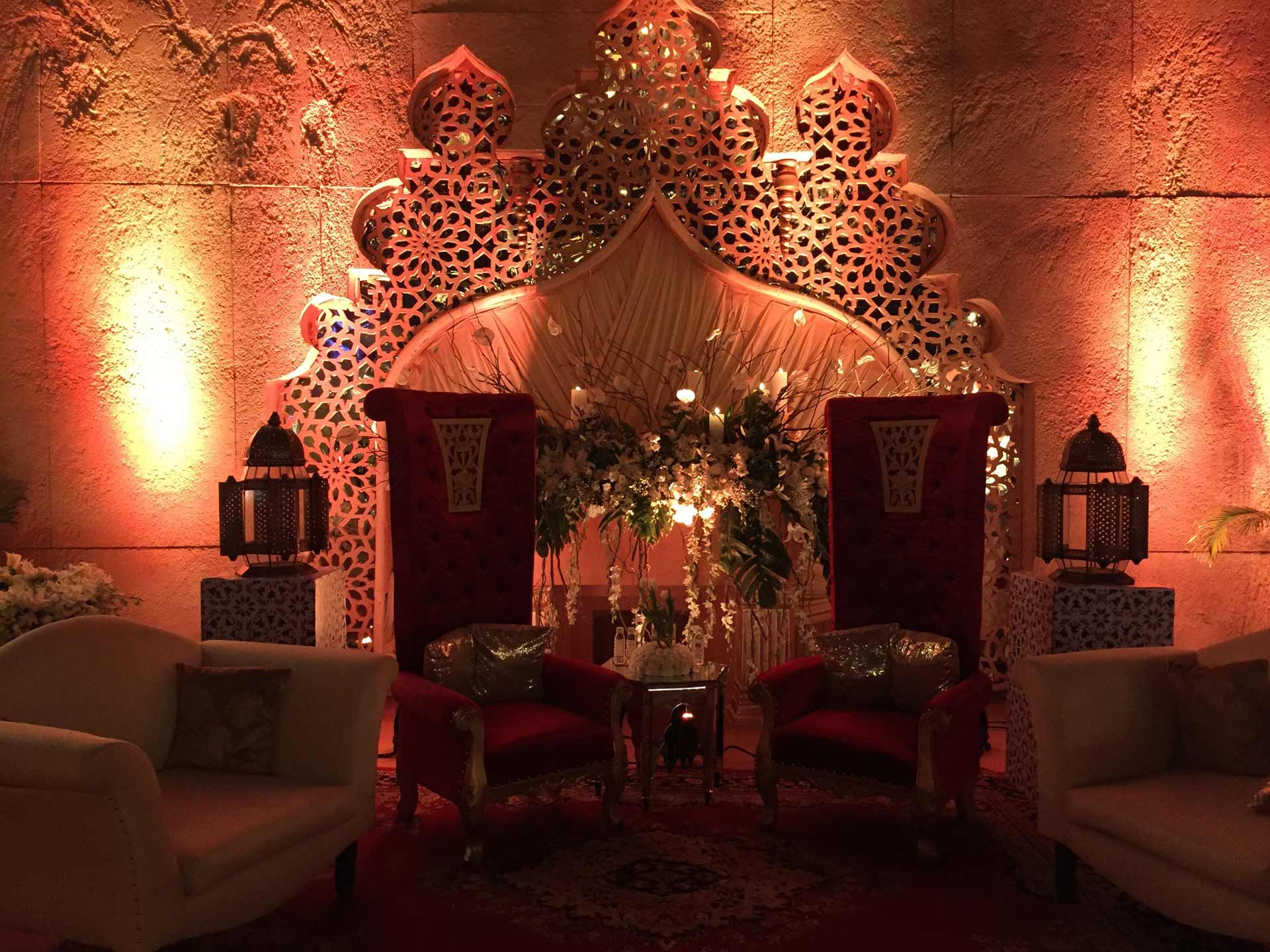 Wedding stage decoration delhi  Hire fnpweddings for unique stagedecoration for you your
