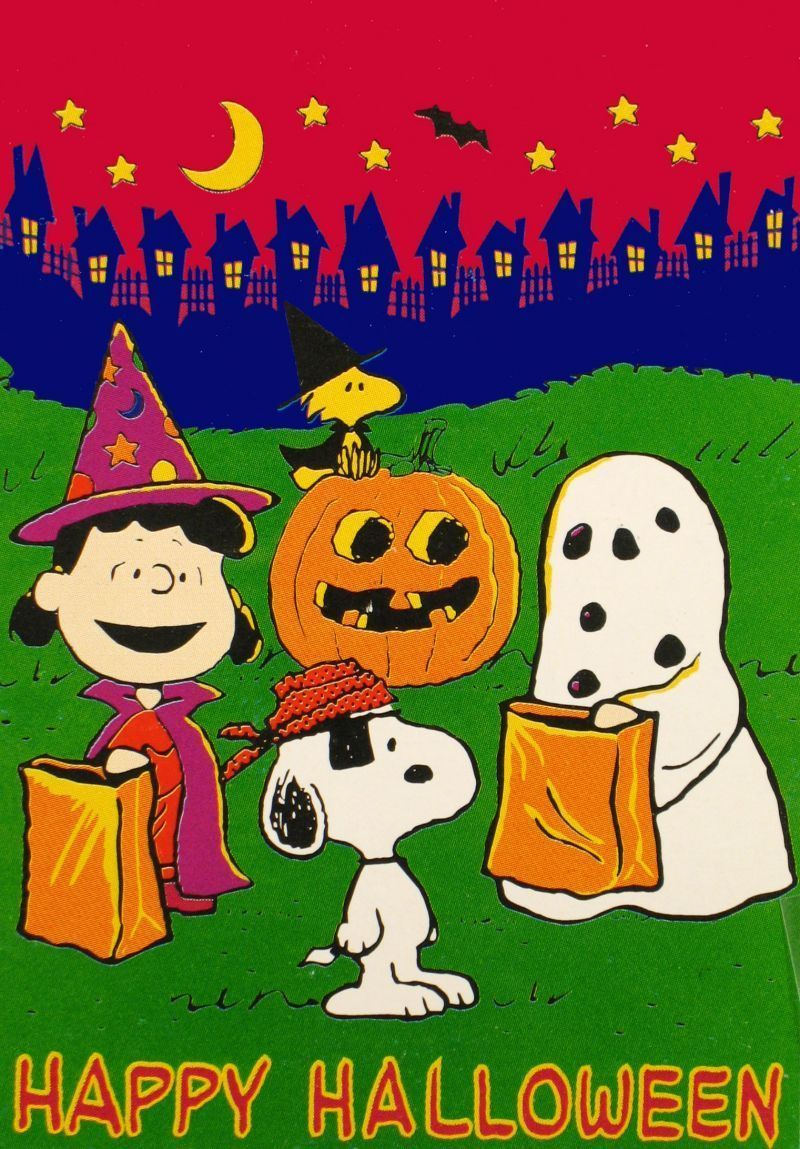 peanuts gang halloween flag | snoopy / peanuts | snoopy, snoopy