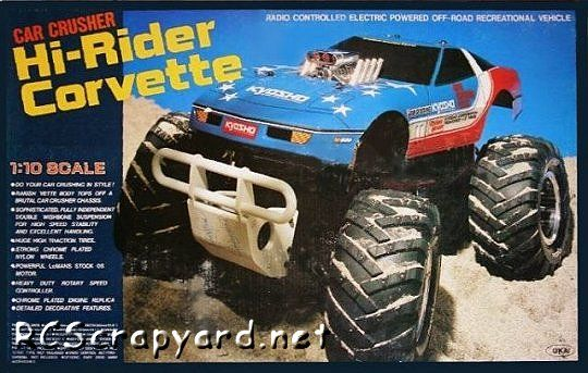 Kyosho Hi Rider Corvette Rc Models And Parts For Sale New Used Corvette Rc Cars Car Model