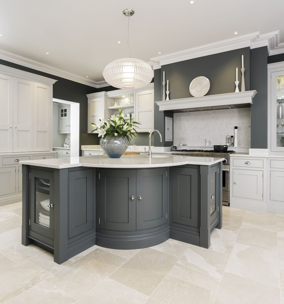Bespoke Kitchen Design A kitchen is almost always the heart of every ...