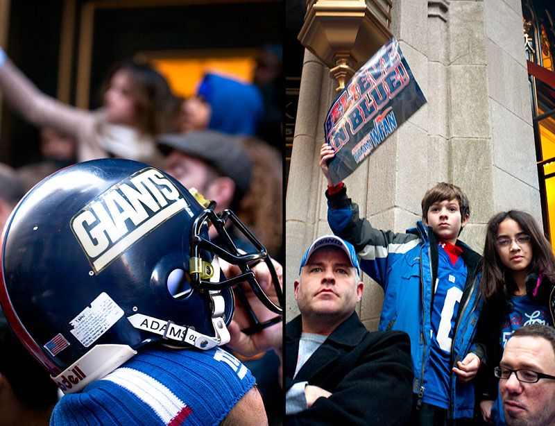 The New York Giants Super Bowl Parade