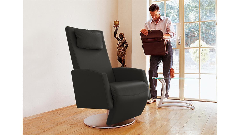 Rolf Benz Funktionssessel 5800 Leder 60 Schwarz Einrichtungsideen