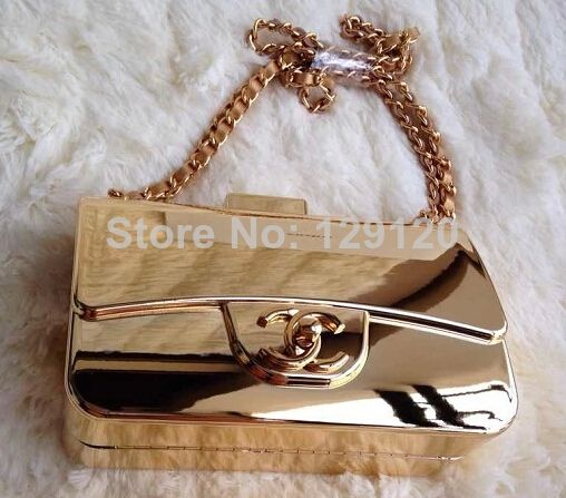 31b9d20c316e Aliexpress.com   Buy New 2014 fashion Luxury gold color mixed Genuine  Leather lady girl women shoulder bag handbag from Reliable Crossbody Bags  suppliers on ...