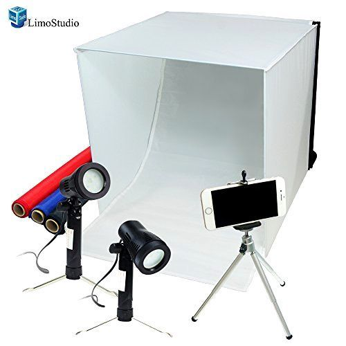 Photography Studio Light Tent Set Cube Photo Softbox Kit Backdrop Equipment Photo Light Box Light Box Photography Studio Photography Lighting