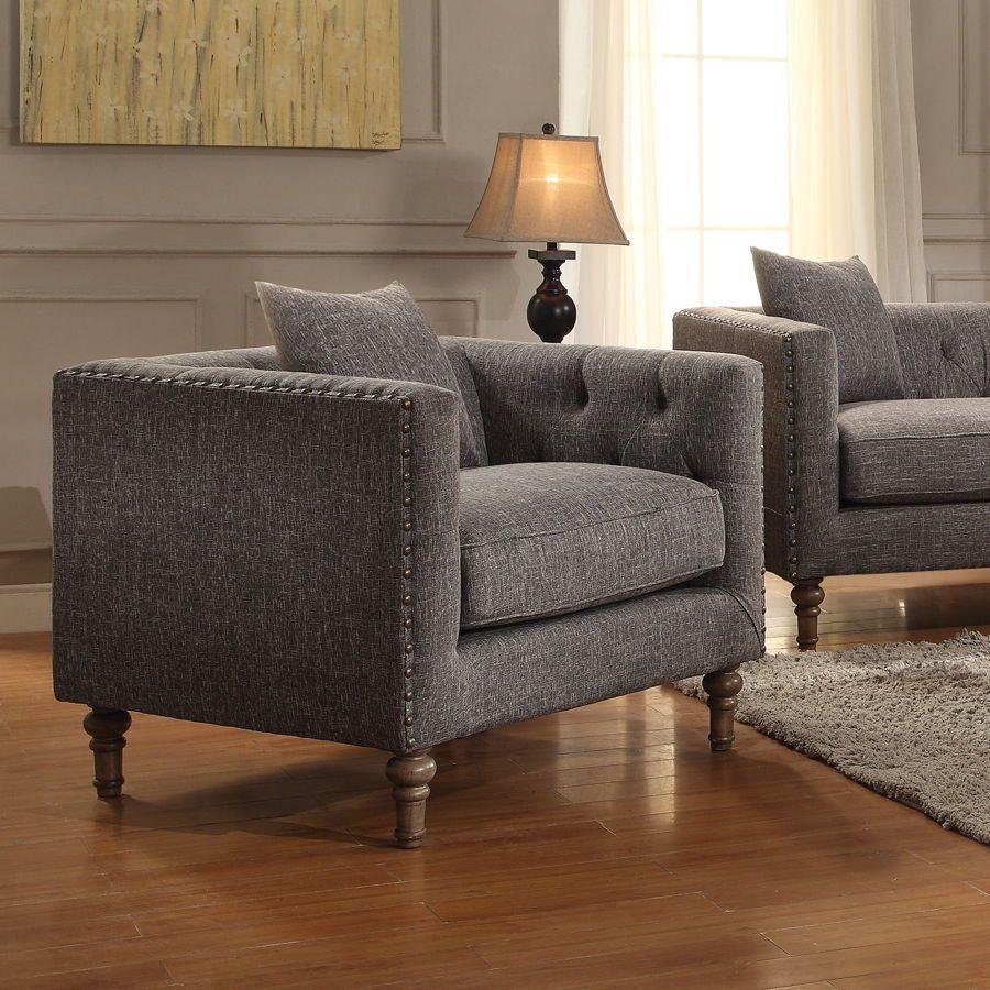 Coaster Furniture Ellery Grey Chair