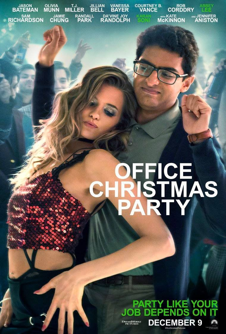 Office Christmas Party Abbey Lee and Karan Soni Poster | Posters ...
