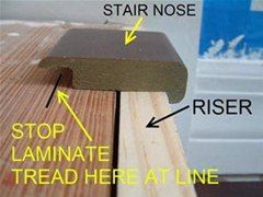 Exceptionnel How To Install Laminate Flooring On Stairs