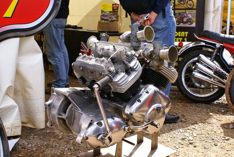 Triumph V6 Engine This Triumph V6 Motorcycle Engine Is A Rare