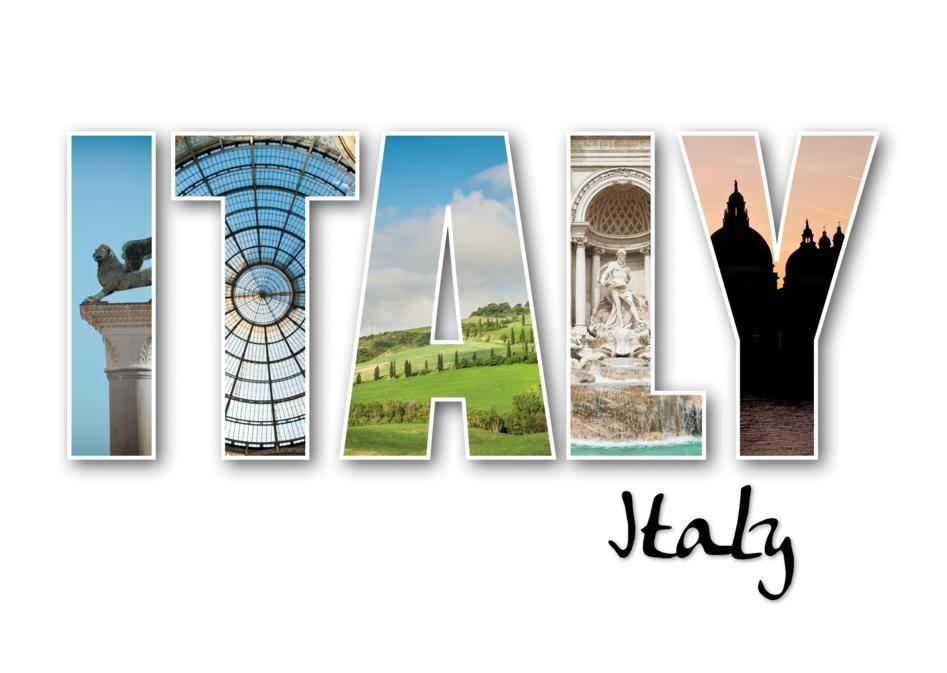 Картинка с надписями италия, плюс