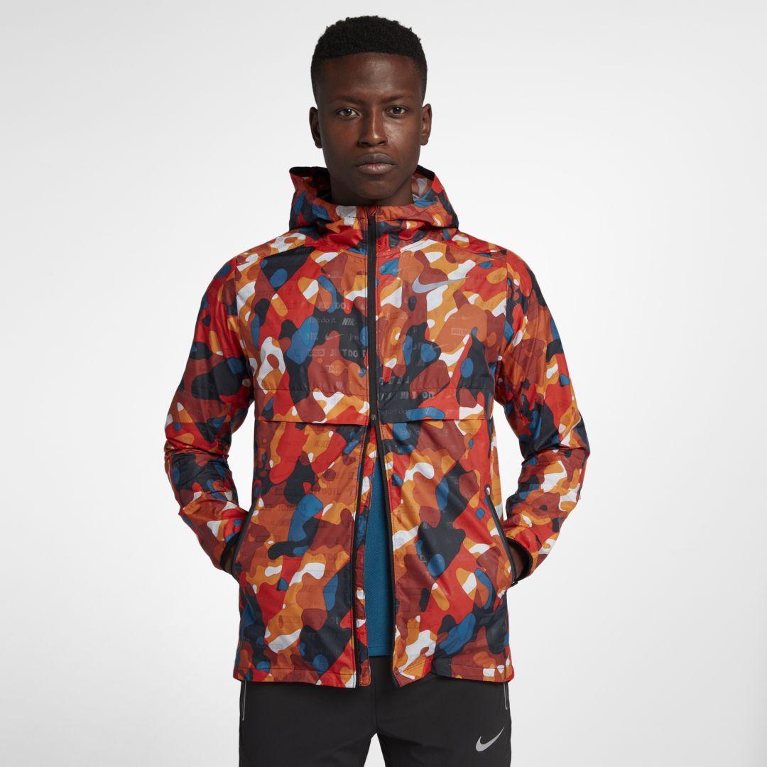 Nike SHIELD GHOST FLASH CAMO JACKET Herren von Runners