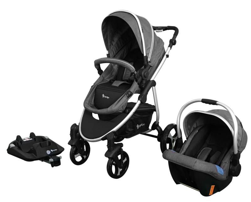 Opalgo 3 in 1 Travel System with ISOFIX Base Travel