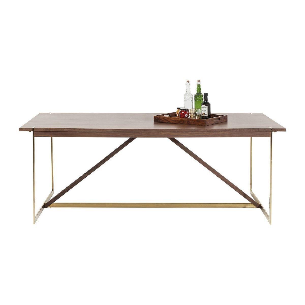 Table Montana 200x100cm Kare Design Kare Design Prix Avis Amp Notation Livraison La Table Mo Table A Manger Moderne Table Design Salle A Manger Cuisine