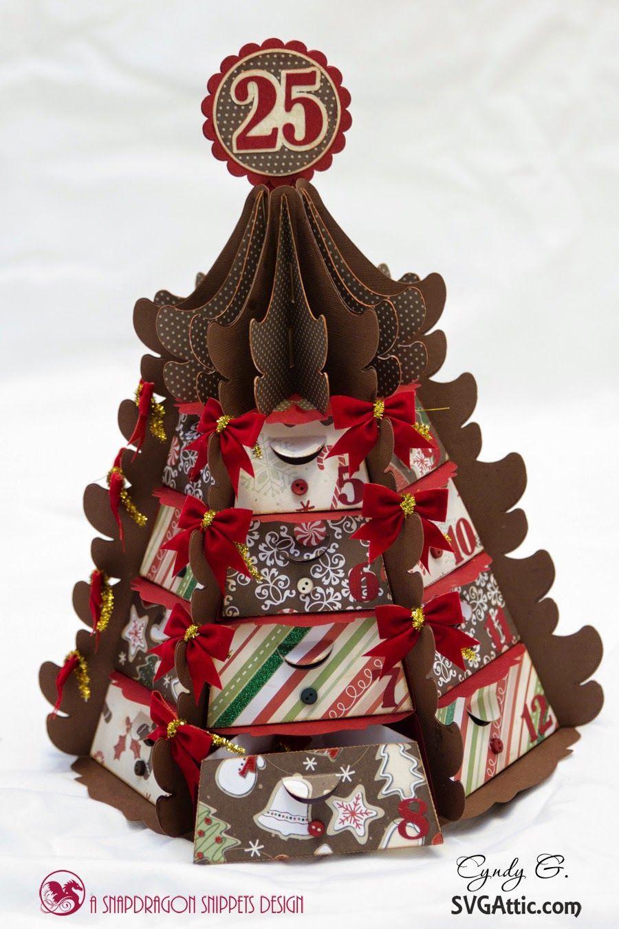 Christmas Tree Advent Calendar Christmas tree advent
