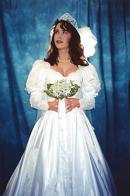 bride brides tiffany lloyd tg michelle transgender flickr dresses bridal tm bridesmaid bride2 gowns sissy another bridesmaids favorite 2000 pretty