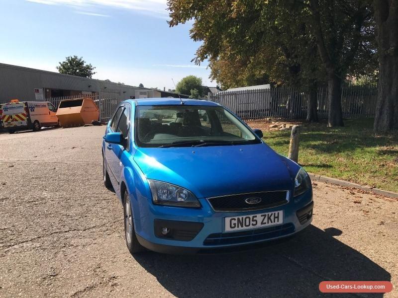 Car For Sale Ford Focus 1 6 Zetec Climate 62k Miles