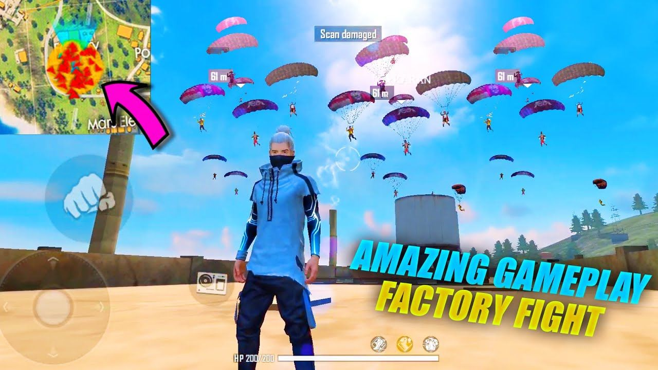Garena Free Fire King Of Factory Fist Fight Amazing Headshots Gameplay Pk Gamers Factory Fight Amazing Headshots Headshots Iphone Background Wallpaper