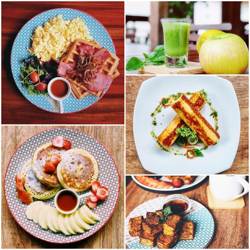 15 Affordable And Delicious Breakfast Cafes And Restaurants In Central Bali Seminyak Kuta Ubud Canggu Bali Food Delicious Restaurant Breakfast Places
