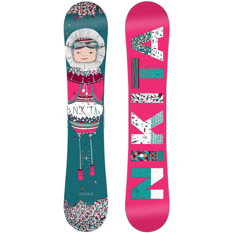 $181 93 Nikita Sideways Sista Snowboard Women s 2014