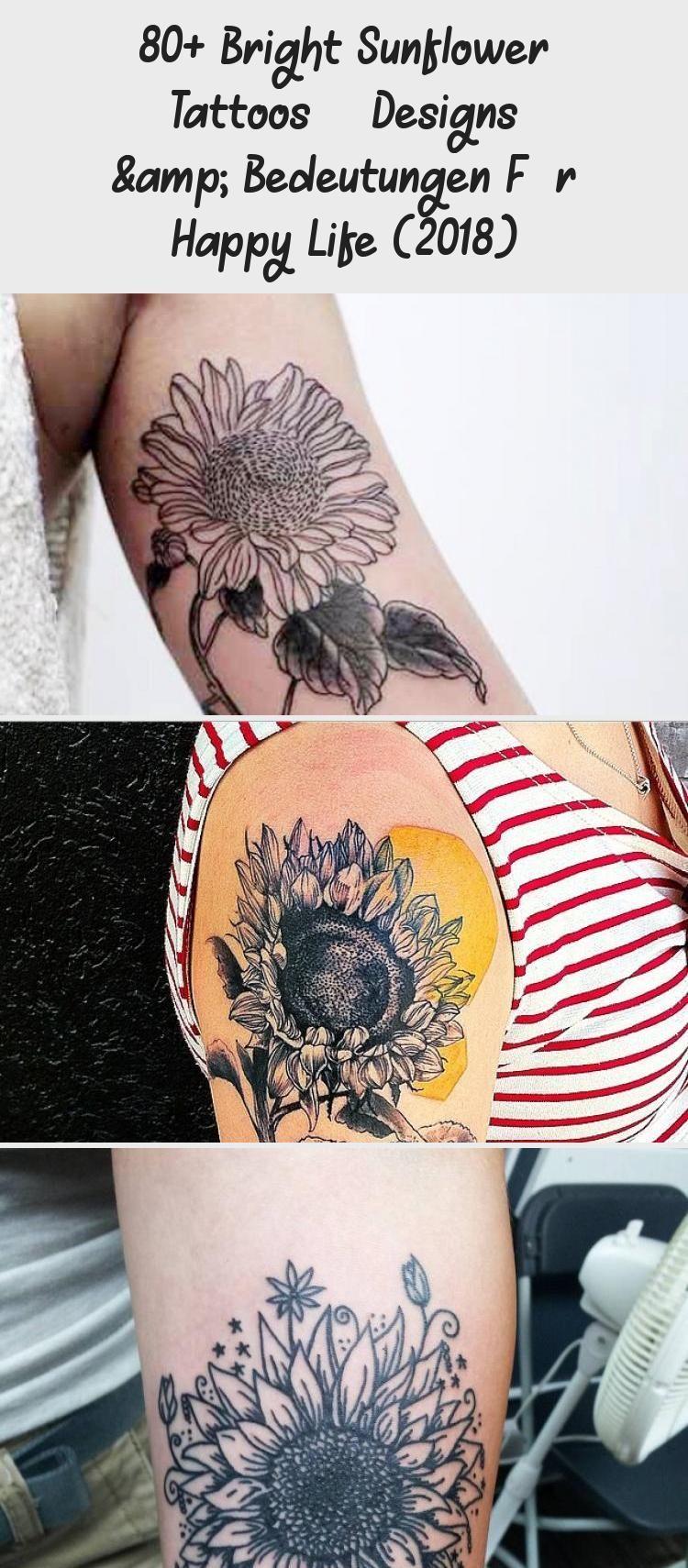32+ Best Sunflower meaning tattoo designs ideas