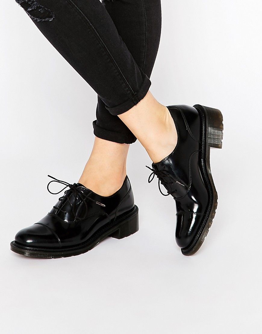 Zapatos negros formales Dr. Martens para mujer 6tvyqmaM2T