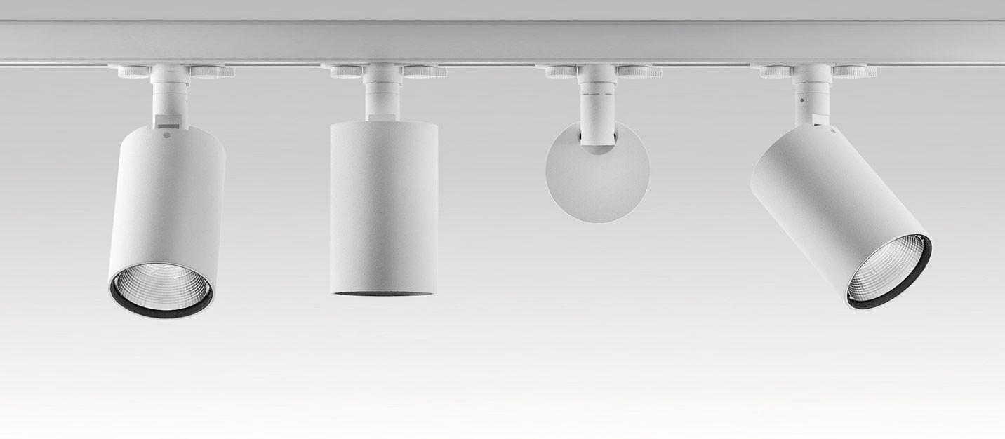 Perfetto ivela lighting widestudio rendering 3d track lighting queens third rail luminous