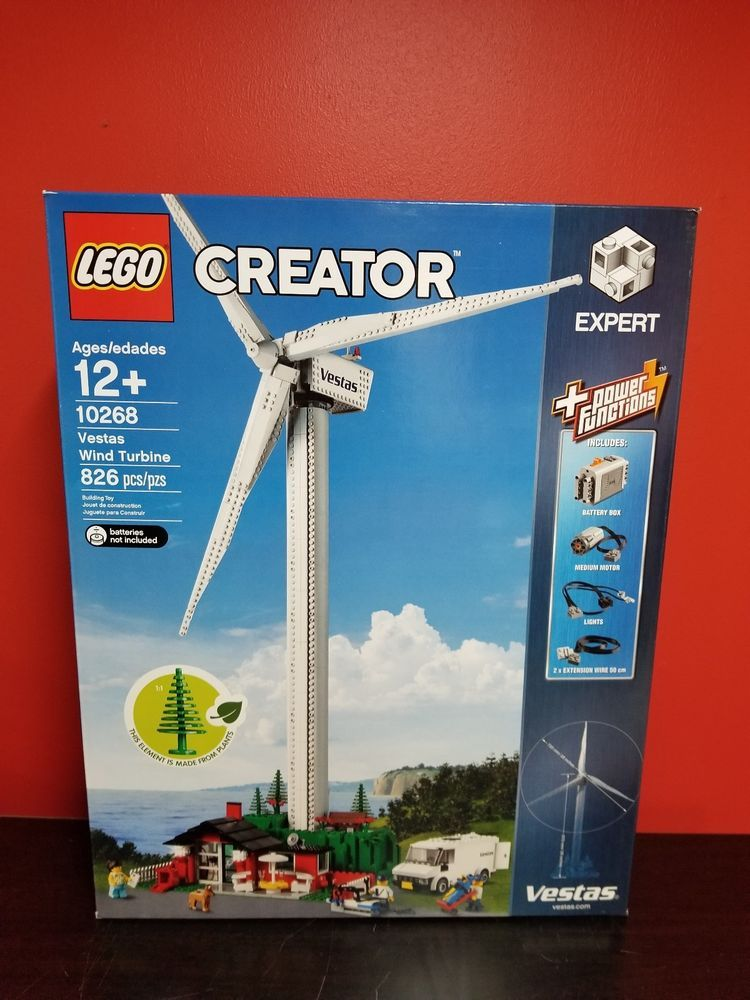 Lego Creator Vestas Wind Turbine Set # 10268 Factory Sealed, Great