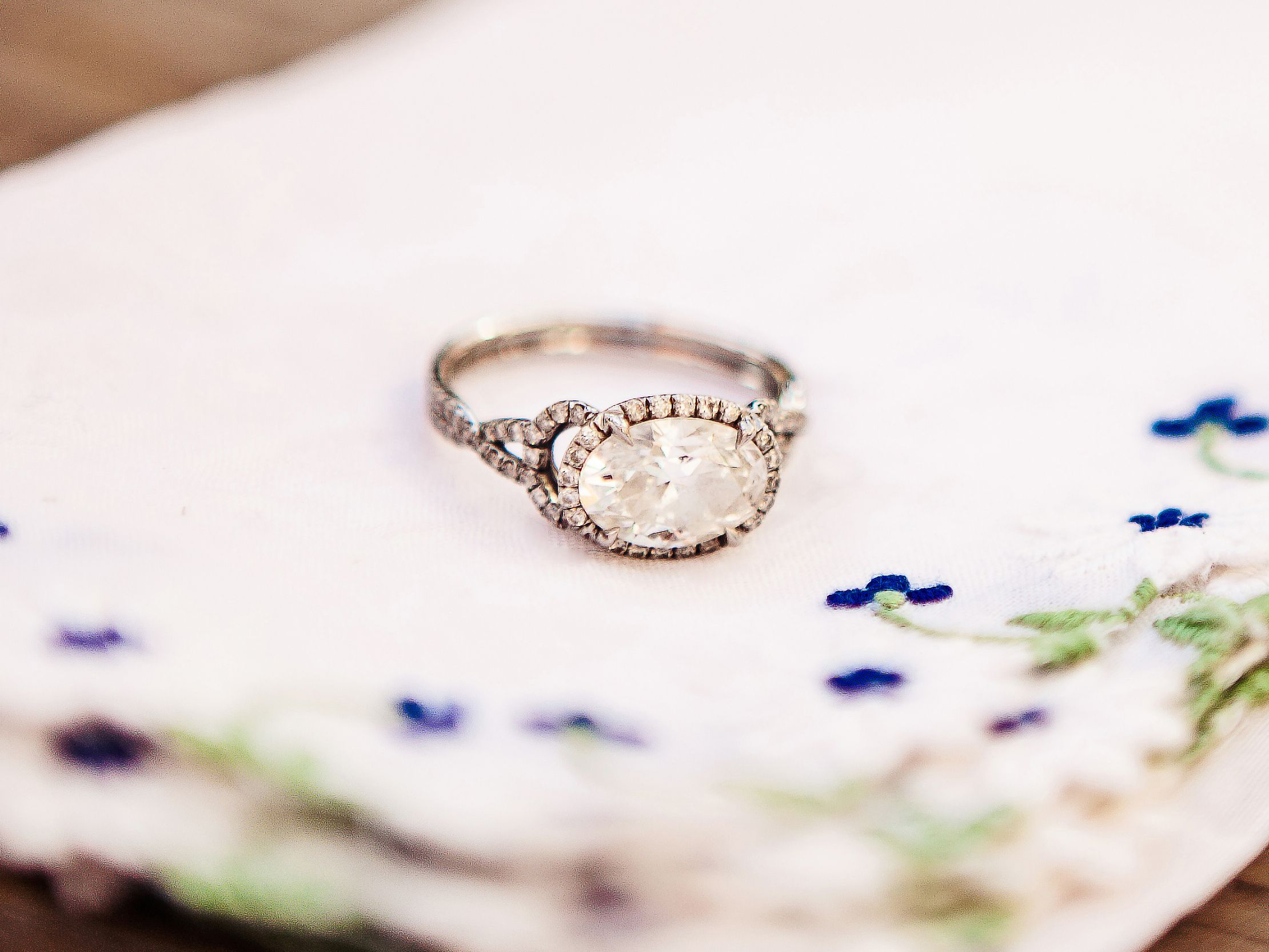 Resetting an Heirloom Stone Ring Wedding stuff and Engagement