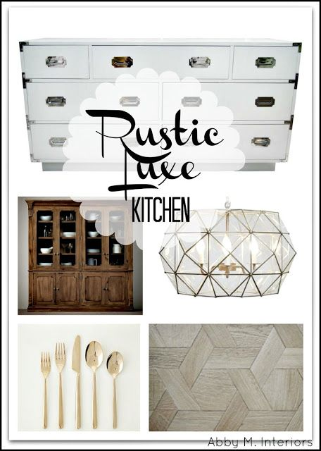 Best Abby M Interiors Creating Your Rustic Luxe Kitchen 400 x 300